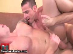 busty gay bareback piercing and dick gay porn