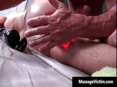 hot and desperate dude gets the massage part2
