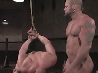 extreme tough gay bondage part1