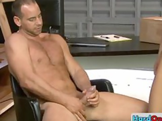 some serious gay bottom rimming by hardonjob
