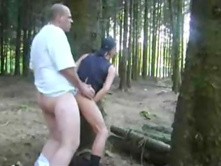 amateur gay fuck inside the woods