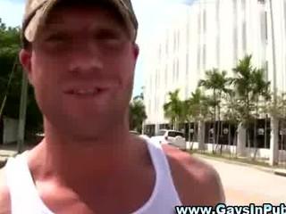 gay inexperienced dudes public dick sucking