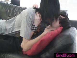 gay emo twinks making out on a furniture part3
