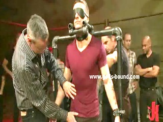 gay male punished inside obsess bondage fuck with
