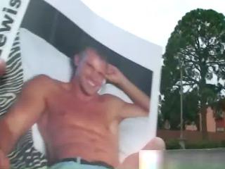 horny dude jerking his fucking big penis gay fuck