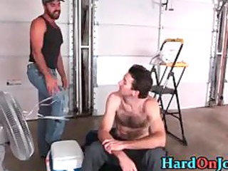 chris and dodger into hardocre gay penis part1