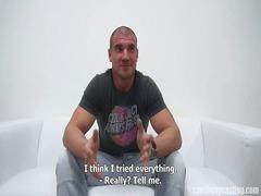 martin muscular teenager into czech gay casting