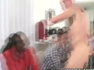 pure stripper gives facial cumshots