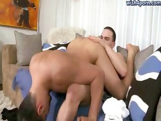 sexy gays tasting their assholes