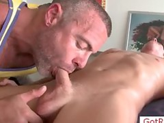 albino stud takes his balls tasted part4