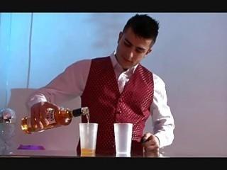 busty gay studs having fuck inside the closed bar