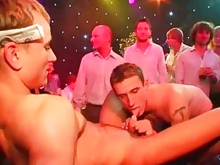 gay gathering studs lick on penises