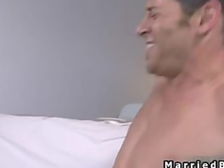 married boy takes awesome gay fellatio part2